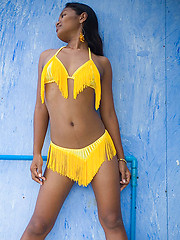 Asha in a bikini