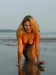 Sofia Orlova On Gryaznyy Beach