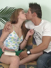 Great gal gets her pussy licked and then banged properly