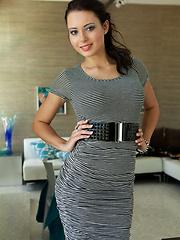 Hotetst brunette babe Natasha Belle