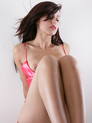 Pink naughty in hot erotic pics