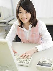 Asian girl Wakana Taniguchi