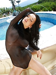 Jenya D is spectacular and gorgeous girl who always thrills the masses with large breasts and a sensual dance.