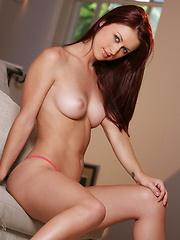 Karlie Montana - Lite green and pink bra and pantys