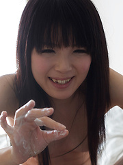 Pretty small-titted japanese girl Sakura Sena