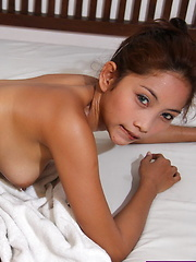 Maybel with her lovely doe eyes gets her superb body fucked bareback