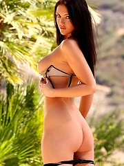 Babe Veronica Ricci outdoors