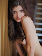A gorgeous erotic nude model makes headway with her sweet, charming personality, her fresh, youthful beauty, and exquisitely luscious body.