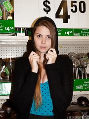 Lindsay Bare Visits Big Lots