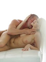 Very hot blonde babe Samantha Joon sex scene
