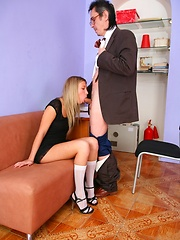 Teen Yana loves fucking no matter how old is the man.