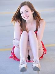 Victoria outdoor striptease