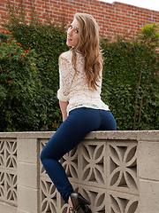 Olivia Pelton the jean test
