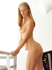 Dominique Dane - shows off her young body
