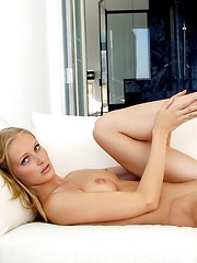 Dominique Dane - is a tall blonde runway model with a naughty side