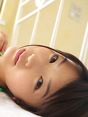 Noriko Kijima Asian has big tits and hot ass in colorful lingerie