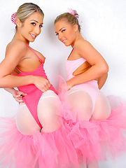 2 hot fucking ballet class teens finger fuck eachother then get fucked by the teacher in these hot 3some cumfaced fucking pics