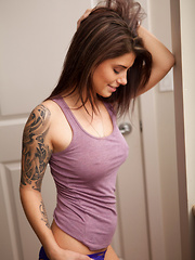 Purple Tanktop