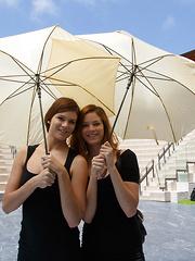 Romi and Raylene Visit the Villa