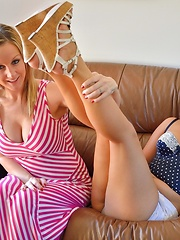 Melissa and Jenna Orally Proficient